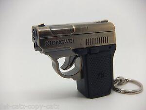 BOYS-GUN-SHAPED-LASER-POINTER-WITH-LED-TORCH-KEYRING-CAT-TOY-1MW-UK-SELLER