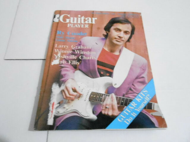 MARCH 1980 GUITAR PLAYER --- vintage music magazine --- RY COODER