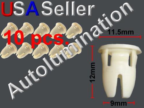 MOULDING CLIP MERCEDES 001-988-76-81 a0019887681 Door Strip Trim Grommet