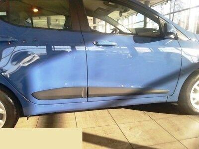 Zierleiste Seitenschutz Türschutz für Hyundai i10 Hatchback 5-Türer 2013-2016
