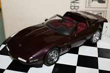 Franklin Mint 1:24 Scale 1993 CORVETTE ZR1 (RUBY RED)