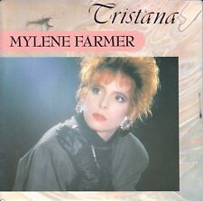 "Mylene Farmer  7"" Vinyl Single  TRISTANA   (c)  1987"