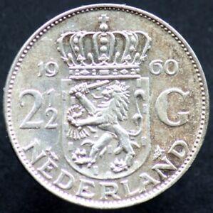 2-1-2-GULDEN-1960-PAYS-BAS-NETHERLANDS-Argent-Silver-01