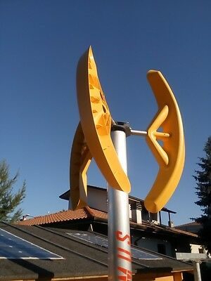 Micro Home Vertical Axis Wind Turbine Power Generator 500 W Mill Savonius 500W
