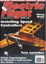 ELECTRIC FLIGHT MAGAZINE 1999 JAN BRISTOL SUPERFIGHTER, MITCHELL'S SUPERMARINE