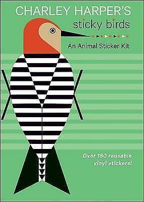 Charley Harper's Sticky Birds   an Animal Sticker Kit Aa769 (Novelty book book,
