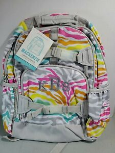 Pottery Barn Kids Mackenzie Large Backpack New Zebra