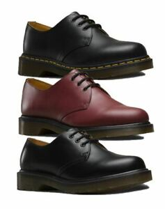 shop designer fashion best loved Details about Dr Martens Boots Mens Smooth Winter Casual Low Boots Black  and Cherry Red