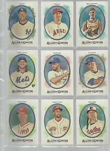 2017-Topps-Allen-and-Ginter-HOT-BOX-FOIL-34-BILLY-HAMILTON-REDS
