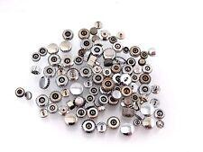 Assortment of 100 Stainless Steel Dustproof Watch Crowns