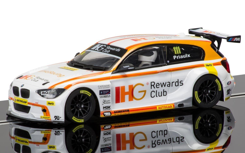 Scalextric C3784 BMW 125 Series 1 RACING 2015, come nuovo inutilizzato