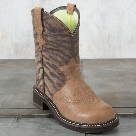 Gentlemen/Ladies Ariat Tiger Fatbaby Heritage Trio Boots Adequate supply and timely delivery Let our goods go to the world Exquisite workmanship