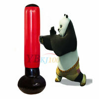 Inflatable Free Standing Punching Tower Punch Bag Boxing Water Base & Free Pump