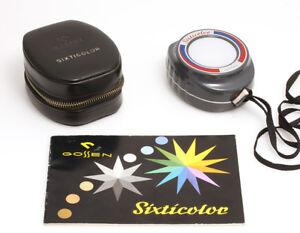 Gossen-Sixticolor-Farbtemperatur-Mesgerat-mit-Anzeige-der-Korrektur-Filterwerte
