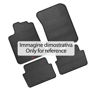 Set tappetini su misura in gomma - Fiat Panda (2/12 in poi)