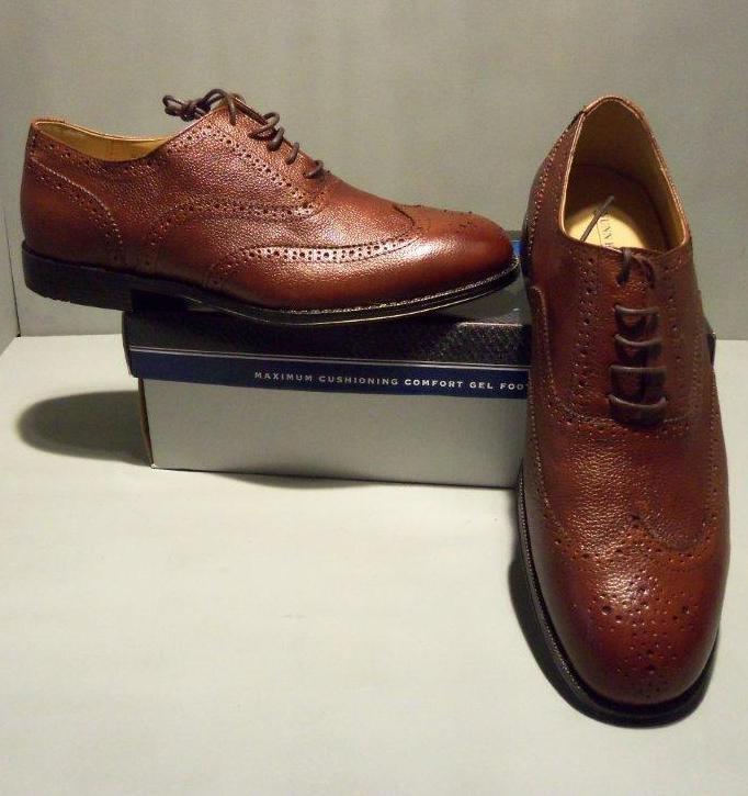 Nunn Bush Men's Kobey Cognac Brown Dress Oxford shoes SIZES  NIB NEW