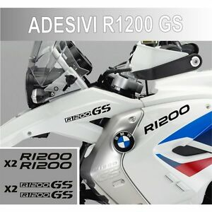 KIT-ADESIVI-BMW-R-1200-GS-STICKER-BICLORE-R1200GS-ADESIVO-NERO-CARENA