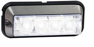 Buyers 4-7/8&#034; Rec. Marker &amp; Strobe Light,Clear,88<wbr/>91006 Wrecker,TowTru<wbr/>ck,Rollback