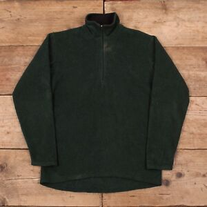 Vintage-pour-homme-PATAGONIA-Green-Quarter-Zip-Fleece-Sweat-shirt-USA-Small-36-034-R9679