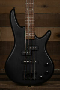 Ibanez GSRM20 Mikro 4-String Bass, Weathered Black