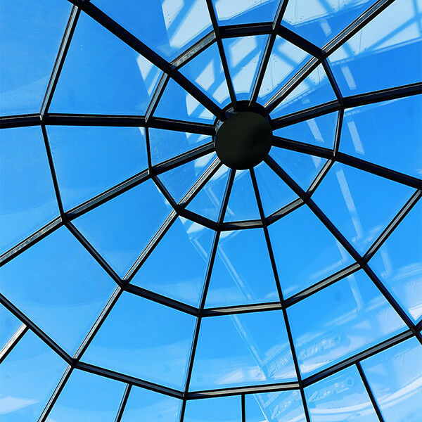 Dachfensterfolie Silber Dunkel Außenmontage (Rollenbreite 76cm)
