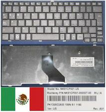 Tastiera Qwerty Latino TOSHIBA Satellite Mini NB200 NB201NK81CP001 PK1308O2A00