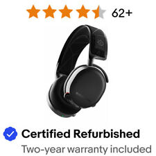 SteelSeries Arctis 7 61505 Wireless Headset - Black Certified Refurbished