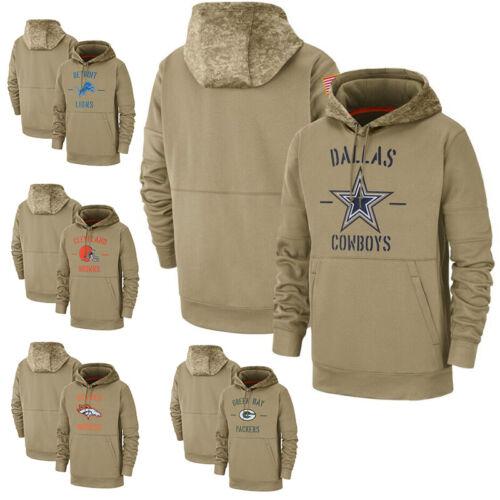 NFL Football Herbst Kapuzenjacke Salute to Service Sideline Pullover hoodie