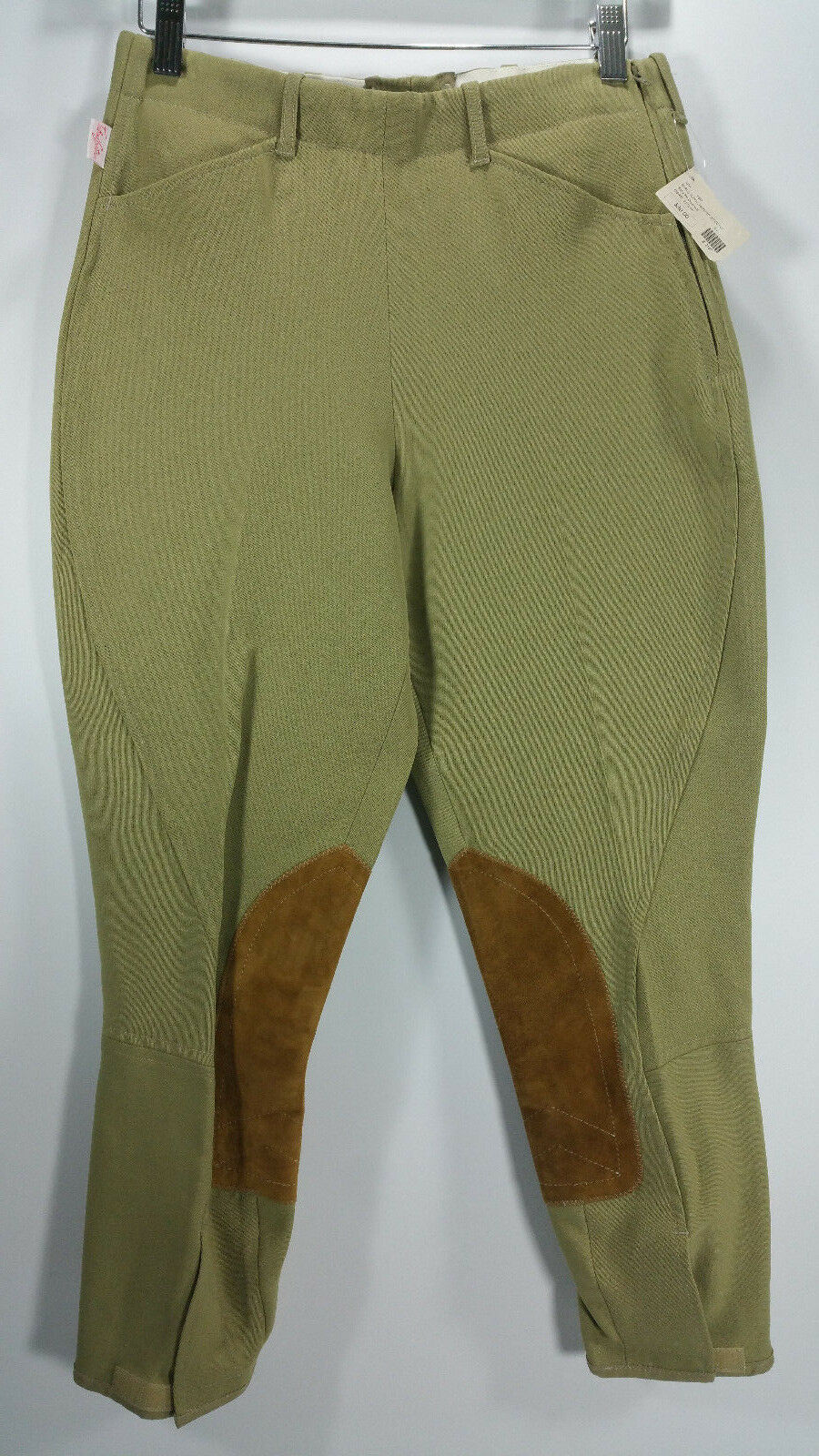 NEW TAILORED SPORTSMAN Breeches Jodhpurs Girls 18R Beige Royal Hunter