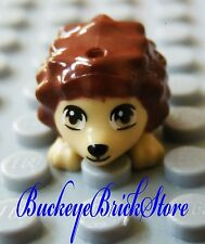 NEW Lego Minifig Animal Reddish BROWN HEDGEHOG 3188 3135 41034 Pets