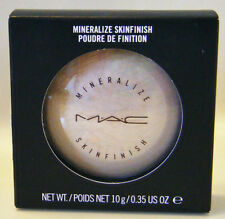 MAC LIGHTSCAPADE  Mineralize Skinfinish NIB Candlelit Beige Buff 10g