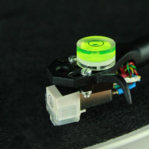12*6mm Azimuth Bubble Level Gauge for LP Turntable Headshell Tonearm Cartridge