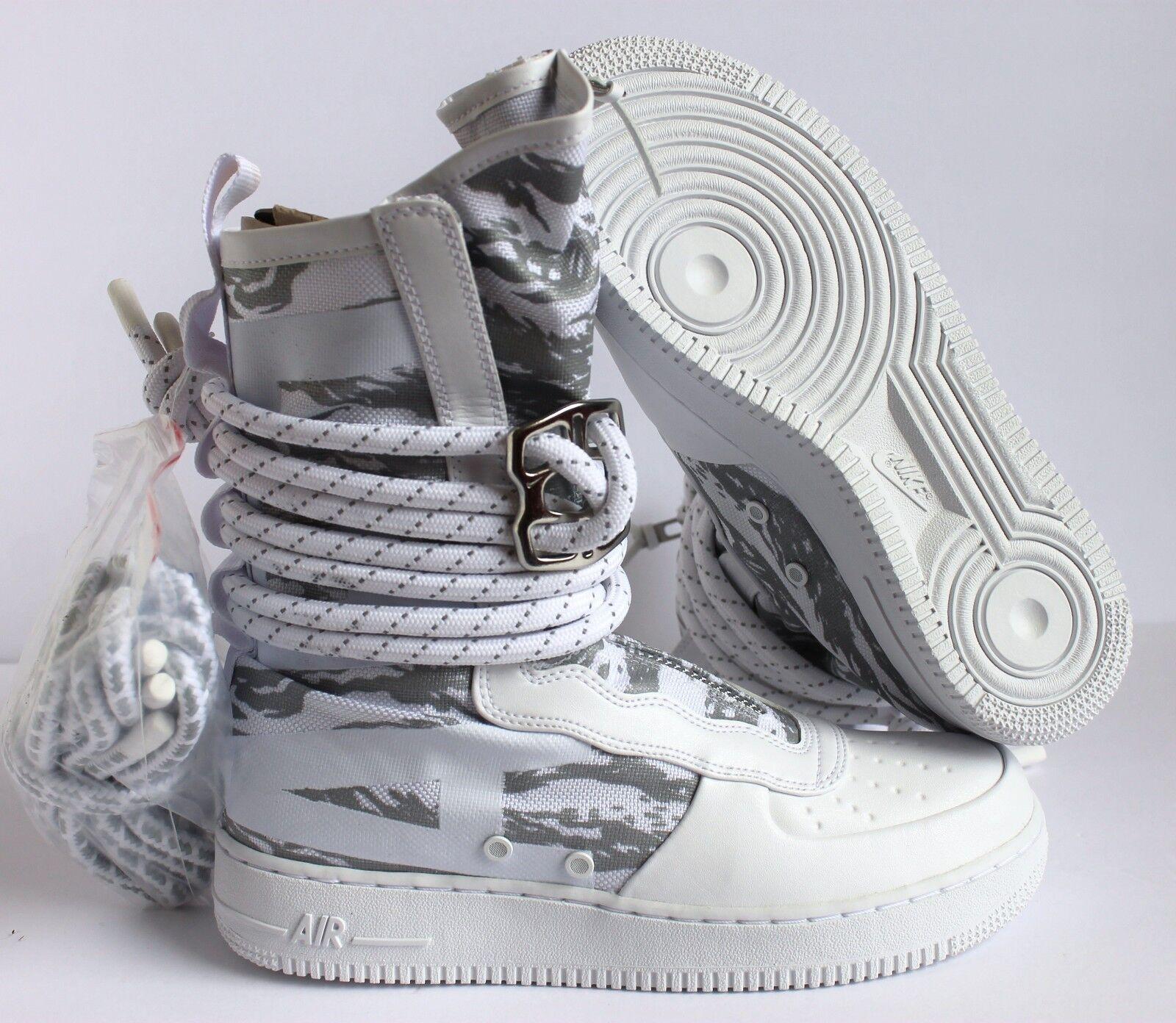 Nike Air Force 1 SF AF1 Hi Blanco campo especial blanco / Blanco Hi Precio reduccion nuevos zapatos para hombres y mujeres, el limitado tiempo de descuento 75e0c3
