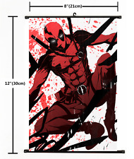 Hot Anime Deadpool  Dead pool Wall Poster Scroll Cosplay 3166