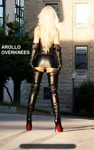 Details about WOW !! AROLLO Princess lange Overknee Stiefel Größen 37,38,39,40,41,42,43,44