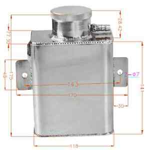 UNIVERSAL-FABRICATED-COOLANT-EXPANSION-CATCH-Can-TANK-BILLET-CAP-AW
