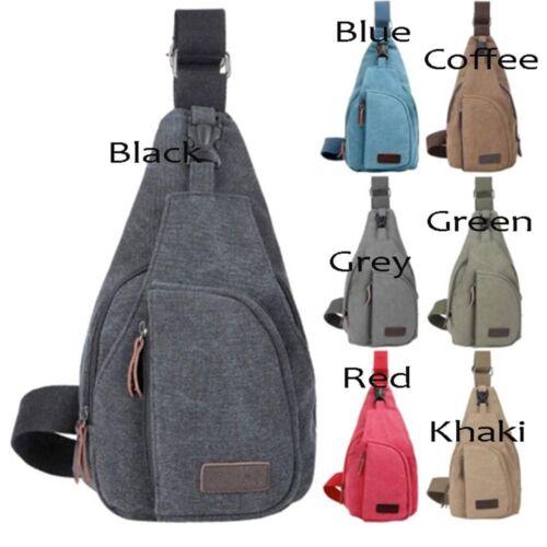 Leather Best Satchel Hiking Vintage Backpack Canvas Bag Men School Shoulder