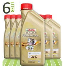 ANGEBOT 6x1 Liter Castrol Edge Professional A5 0W-30 TITANIUM SONDERPREIS