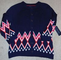 Women's Tommy Hilfiger Pea Coat Cardigan Sweater Size S Nice $90 Fs:)