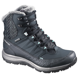 shoes SALOMON KAINA MID GTX blue-5