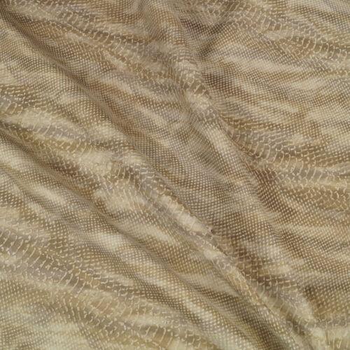 Rindsleder Snake Vintage Design 1,3 mm Dick Echt Leder Kalbsleder Haut Leather