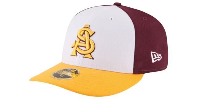 sports shoes d5cde f3925 ... sweden arizona state sun devils new era 59fifty fitted hat new with  stickers asu ncaa d5669