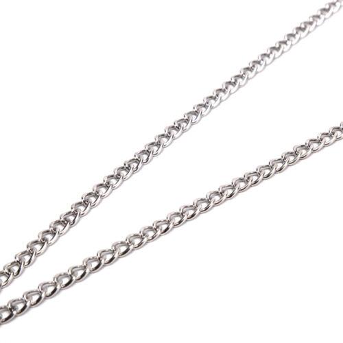 Cross Pendant  Metal  Long Chain Punk Necklace Fashion Women men Jewelry Gi fu