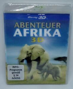 Abenteuer-Afrika-3D-3D-Tier-amp-Reise-Doku-Blu-Ray-NEU