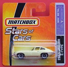 MATCHBOX   ´61 JAGUAR E-TYPE   Stars Of Cars