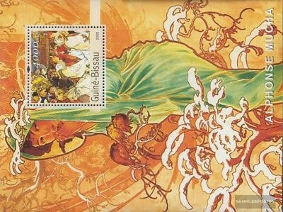 Guinea-bissau Block440 Postfrisch 2003 Gemälde Art Topical Stamps