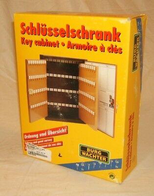 Burg Wachter Key Cabinet 8-in x 6 1//4-in x 3-in 15 Keys German Made KB15W Steel