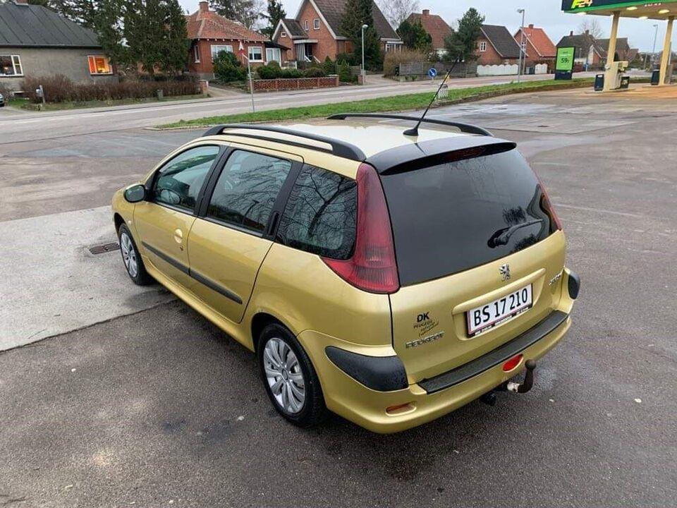 Peugeot 206, 1,4 HDi SW, Diesel