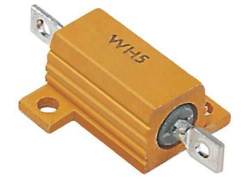1kΩ ± 1/% 1 X Welwyn WH5 Serie Aluminio alojado Soldadura lug Resistor de montaje del panel