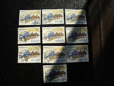 a28 u Briefmarke Yvert Und Tellier Nr 1411 X10 Gestempelt Treu Portugal